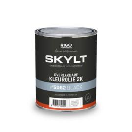 Skylt Overlakbare Kleurolie 2K Black #5052 1L