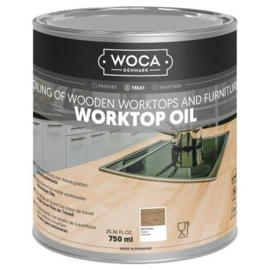 WOCA Werkbladenolie naturel 750 ml