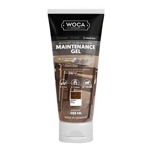 WOCA onderhoudsgel extra wit 0,2 L