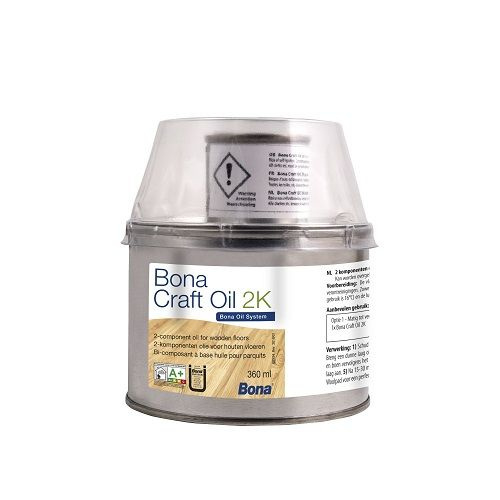 Bona Craft Oil 2K Light grey 400 ml