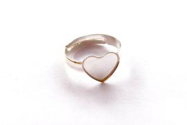 Verstelbare ring hart 10mm