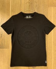 T-shirt - Bike town black