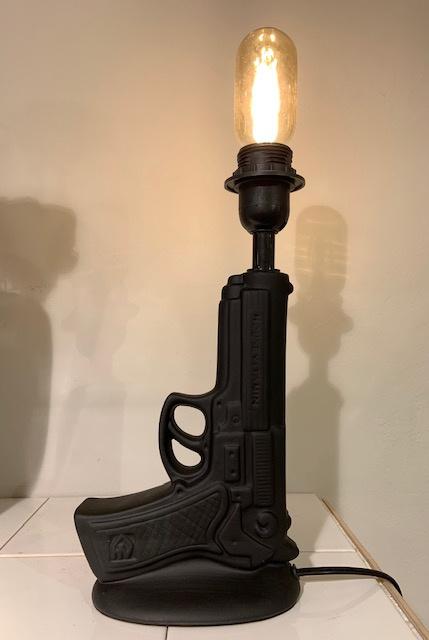 Gun Lamp Black