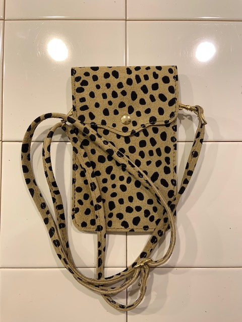Phone bag - Suede