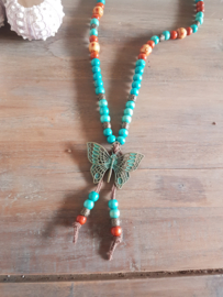 Bohemiam Ketting Butterfly