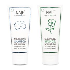 NAÏF - Bundel Shampoo + Washgel