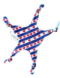 Baby knuffeldoekje Friese vlag