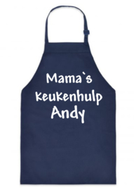 Kinderschort Mama`s keukenhulp + naam