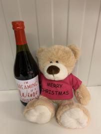 Kerstknuffel | Dreaming of a wine christmas
