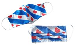 Friese vlag mondkapje