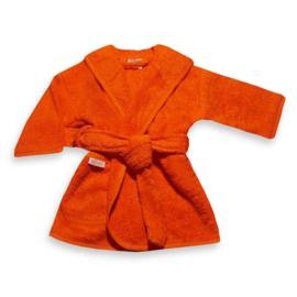 Badjas (met naam) 1-2 jaar / Oranje