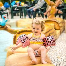 Rosé Gouden Panter Zwembandjes 0-2 jaar