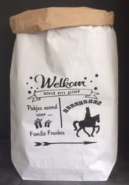 Paperbag Welkom sint en piet