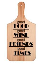 Broodplank |  good times