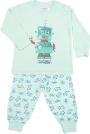 Pyjama Robot Go To Sleep - mint