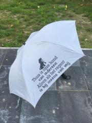 Opvouwbare paraplu - hond