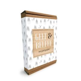 GEEF & BELEEF GEZELSCHAPSSPEL - EEN GOED GESPREK | WIT