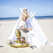 Zwemband Gouden Zwaan Glitter 3+