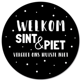 Muurcirkel | Welkom sint & piet