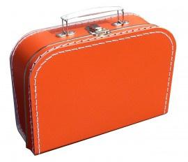Kinderkoffertje (met naam) - Oranje