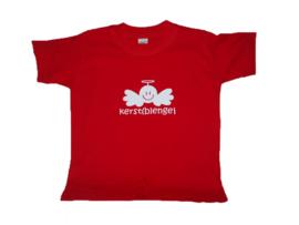 T-shirt kerst(b)engel + naam