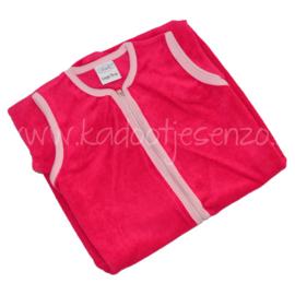 Slaapzak (met naam) 110 cm - Fuchsia / Roze