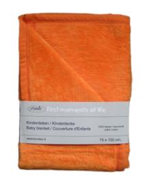 Wiegdeken Oranje