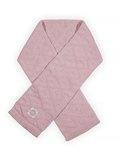 Sjaal Diamond knit vintage pink
