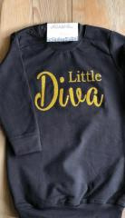 Sweater jurkje Little Diva