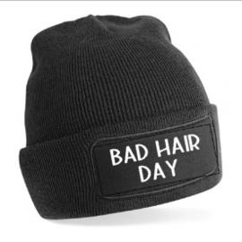 Original Patch Beanie/muts | Bad hair day