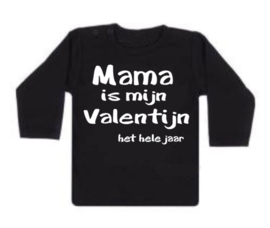 Shirt - Mama/Papa/Opa/Oma is mijn valentijn