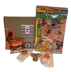 Brievenbuspakketje SINT | Sinterklaasspel