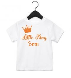 Shirt  Little king + naam