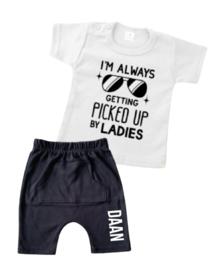 ZOMER SET | T-shirt + korte broek - Picked up by ladies