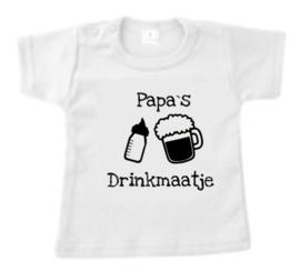 T-Shirt - Papa`s drinkmaatje