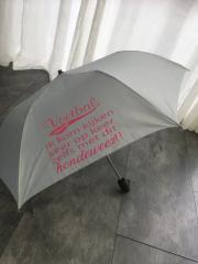 Paraplu met tekst / naam