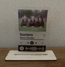 Spotify Music op Plexiglas