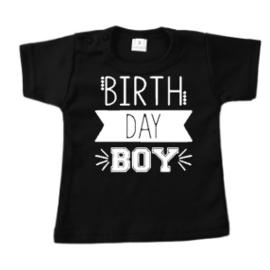 Verjaardag t-shirt met naam - leeftijd | Birthday Boy