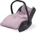 Comfortbag 0 tot 9 maanden autostoel Diamond knit vintage pink