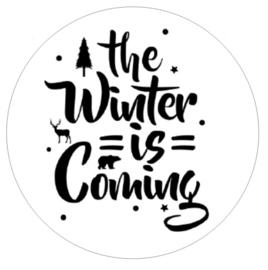 Muurcirkel | The winter is coming