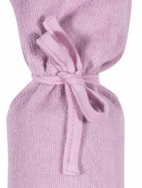 Kruikenzak licht roze