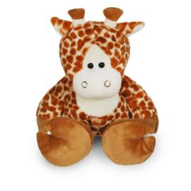 Knuffel Giraf 45 cm met bedrukt t-shirt