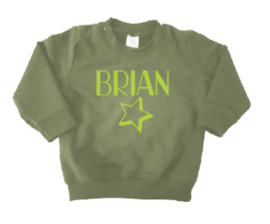 Sweater   Naam + ster