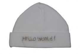 Baby Muts Hello World (zilver)