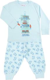 Pyjama Robot Go To Sleep - Blauw
