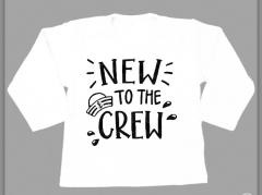 T-shirt - New to the crew