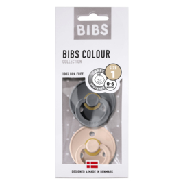 BIBS SPENEN | Iron- Blush T2 (2-pack)