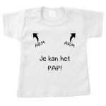 T-Shirt - Je kan het pap
