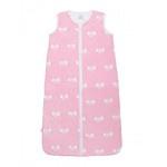 Jollein Slaapzak zomer 110 cm jersey Bow pink