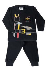 Pyjama Handyman - Zwart